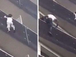 Молодой мигрант ловко залез на 4-ый этаж, спас ребенка и стал национальным героем Франции