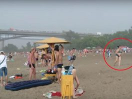 Они пришли на пляж загорать. Пару минут — и люди стали свидетелями ужасного природного явления…