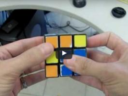 Узнайте секрет кубика Рубика и удивляйте близких. Ваши друзья не поверят своим глазам!