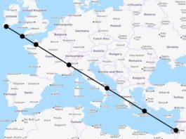 7 мировых святынь расположены на одной прямой. Это не простое совпадение