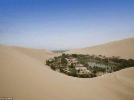 Это не мираж! Удивительный город-оазис среди пустыни в Перу