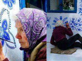 90-летняя художница превратила целую деревню в произведение искусства