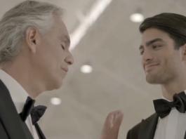 Андреа Бочелли в первый раз спел дуэтом со своим 20-летним сыном
