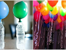 Как без гелия надуть летающие шарики в домашних условиях: украшаем комнату к празднику!