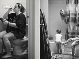 Вот 22 брутальных, но честных фото о том, каково это — быть мамой — на самом деле