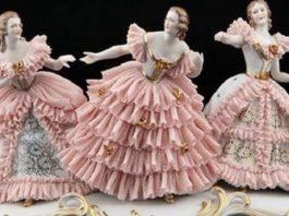 Дрезденские «кружевницы»: В чём секрет фарфоровых статуэток, которые словно одеты в изящные наряды