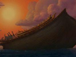 Китайцы обнаружили на горе Арарат Ноев ковчег