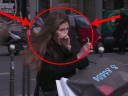 Вот как французы отучают пешеходов ходить на красный!