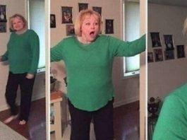 Бурная реакция мамы, понявшей, с кем пришел домой её сын