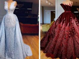 18 королевских платьев от Valdrin Sahiti, от которых сложно оторвать взгляд