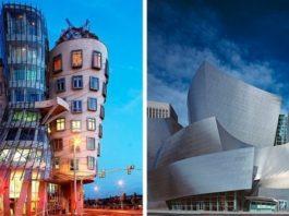 21 здание Фрэнка Гери, которые не вписываются в каноны пространства