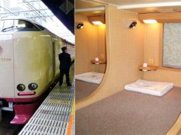Плацкартные вагоны в Японии, которые вызовут у вас удивление