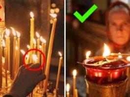 Знаешь ли ты, что нельзя поджигать свечу от рядом стоящей. Причина обескураживающая