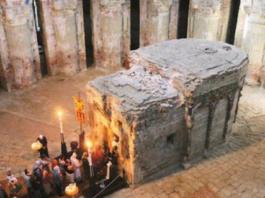 Ученые попали к Гробу Господню и, спустя некоторое время, чуть не поседели