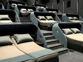 В Швейцарии открылся кинотеатр, в котором кресла заменили кроватями