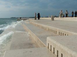 В Хорватии построили 80-метровый орган, на котором играют море и ветер. Только послушайте