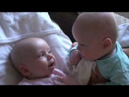 20 000 000 просмотров: уморительный разговор двух младенцев покорил Интернет