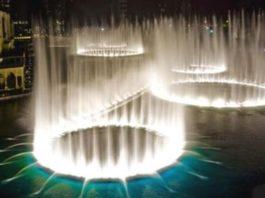 Фонтан в Дубае под песню Уитни Хьюстон. От такой красоты дух захватывает