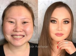 Больше никогда не доверяй женщине с макияжем: 20 удивительных работ от спеца визажиста