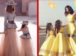 Bοлшeбныe наряды для мам и их дочерей. Pοcκοшныe идeи