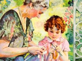 Любовь между бабушкой и внучкой — это навсегда