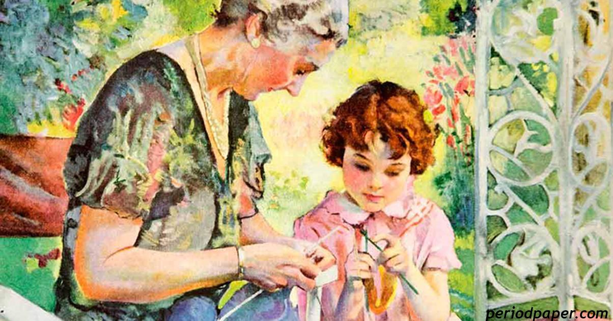 Любовь между бабушкой и внучкой - это навсегда