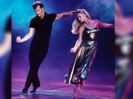 Неподражаемый танец Патрика Суэйзи со своей женой