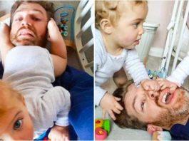 «Радости отцовства» от многодетного папаши, и его будни
